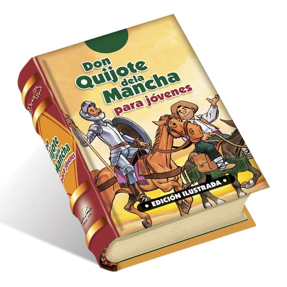 Don-Quijote-de-la-Mancha-edicion-ilustrada-para-jovenes