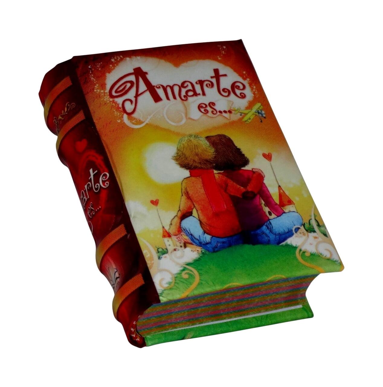 Amarte-es-miniature-book-libro