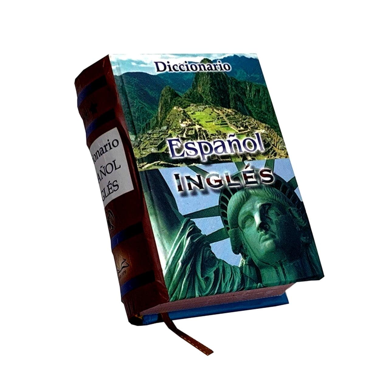 Diccionario-Espanol-Ingles-miniature-book-libro