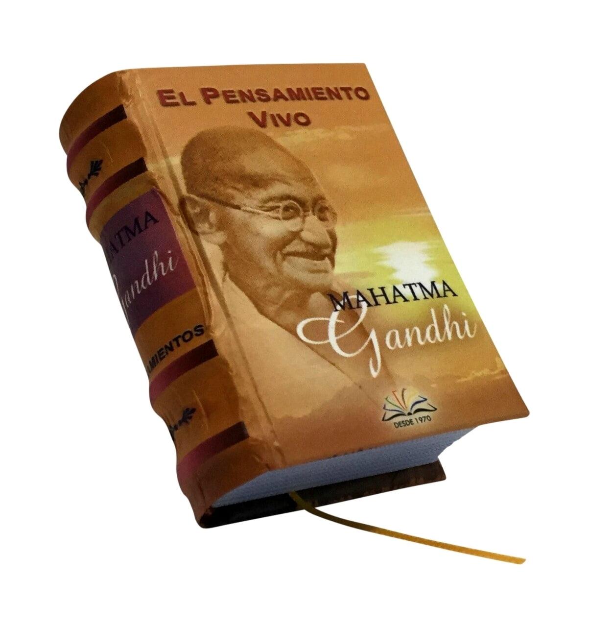 el-pensamiento-vivo-mahatma-gandhi-miniature-book-libro