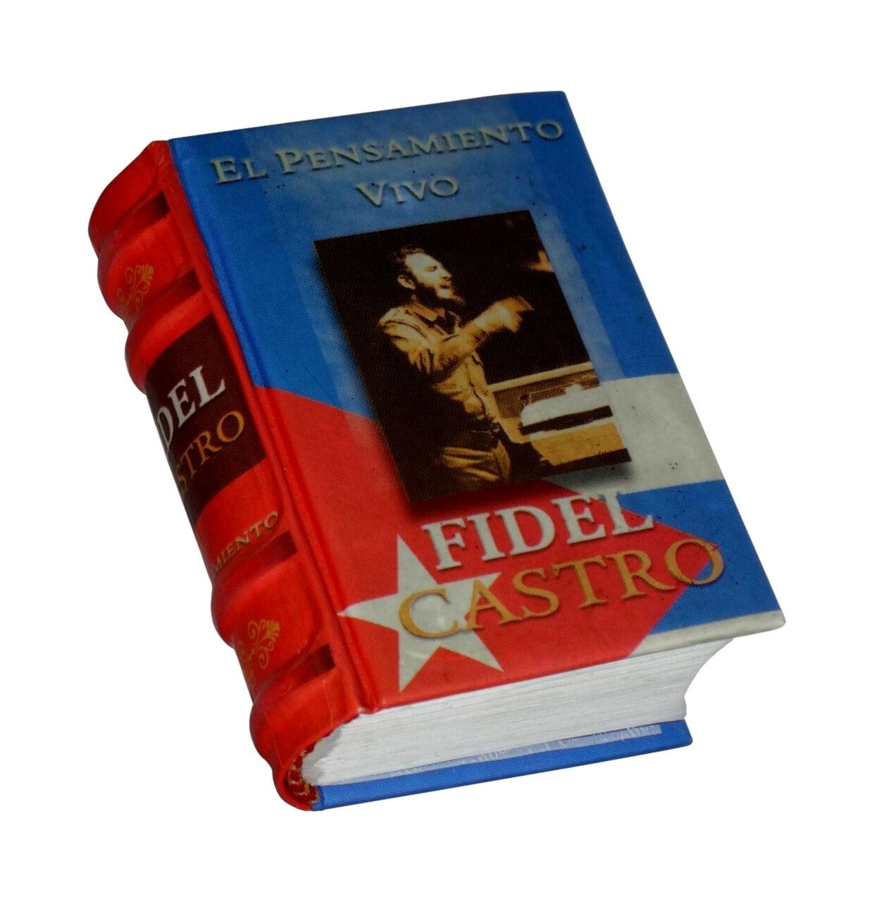 fidel-castro-miniature-book-libro